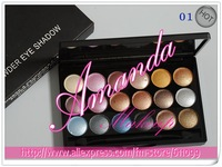 6pcs 18 COLOR BEST Professional POWDER EYE SHADOW palette.6differ colors.32g(6 pcs/lot)free shipping by China Post Air Mail