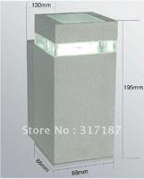 Wholesale Free Delivery Energy-saving outdoor waterproof aluminum wall lamps Garden lights balcony light single-head