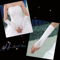 Yarn wedding gloves bridal white gloves wedding dress accessories the bride supplies