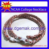 Texas Longhorns Titanium College Basketball Necklace