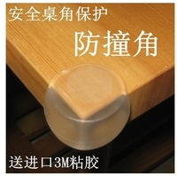 baby PVC spherical safety collision table corner / home protection angle /protector corner  with 3M double-sided adhesive