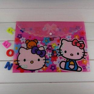 Wholesale Lot of 30pcs, Mixed 15 Designs--Kids Cartoon A4 Documents Bag/ File Folder/ Stationery Holders/ File Bag, Kids Gift
