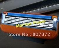 Top quality 50 packs razor blades for men with packing box/ Shaving razor blades EU& US& RU (4pcs=1pack)