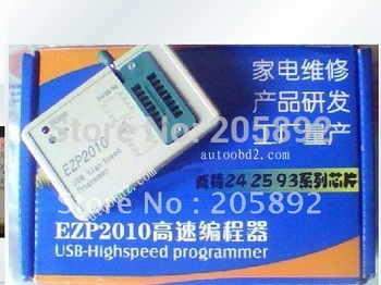 Hot EZP2010 High Speed 24 25 93 EEPROM USB SPI Programmer  free shipping