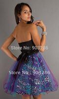 Free shipping sweetheart beaded  custom-made party dress YSDNc03