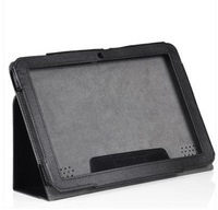Black Leather Case Cover Stand for Acer Iconia Tab A200