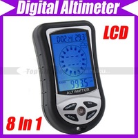 8 in 1 Digital Compass thermometer Altimeter barometer weather forecast #1869