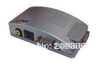 VGA to AV & S-video & VGA, VGA converter, easy to convert the video signal to add more joys for family video equipment