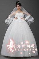 White wedding dress low back free P&P 2012 us size 2-28
