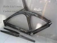 56cm non-integrated Carbon Track frame/ Carbon fixed gear frame