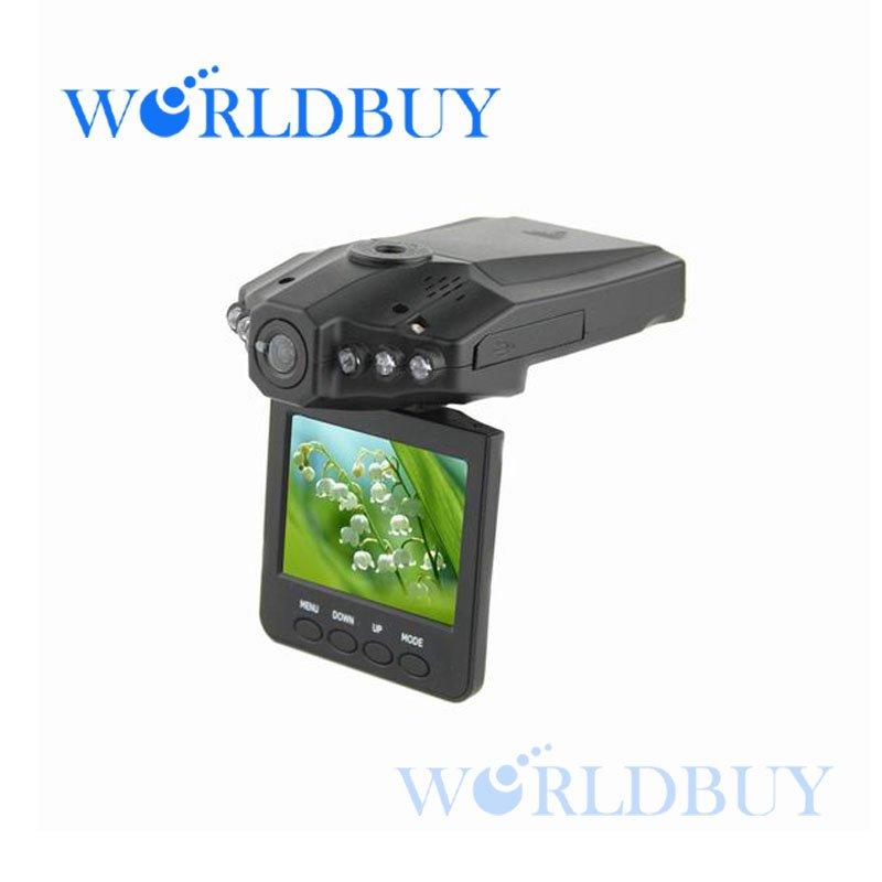 "High Quality New 2.5"" TFT LCD Vehicle Car Camera HD DVR Dashboard Recorder Free Shipping UPS DHL CPAM HKPAM JKFI252(China (Mainland))"