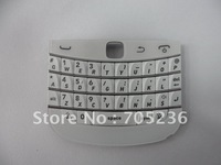 Brand new OEM White Keypad (QWERTY) for Blackberry Bold 9900 Free Shipping