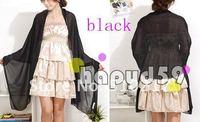 9pcs Bridal Wraps women dress shawl lace bride  wedding shawl scarf  free ship black color
