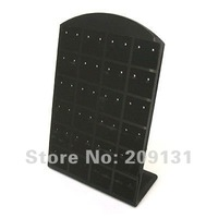 7 rows Gray High Quality velvet Jewelry Ring , Earring box big size,+free shipping