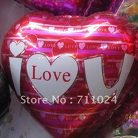 18 Inch Foil  Balloons Free Shipping  Hot Selling Party Supply/ valentine'day party//Aluminum Metallic Helium Foil Balloons