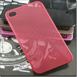 Ultrathin Titanium steel mesh Matel case for iphone 4s Original OYO aluminium bumper case for iphone4g 4s hard back cover(China (Mainland))