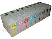 700 мл многоразового картриджи для epson pro 7700 pro 7710 pro 9700 pro9710 с чипом по dhl