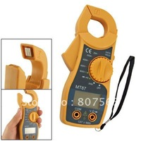 5 pcs/lot Yellow AC DC Volt Ohm Testing Clamp Digital Multimeter Free Shipping