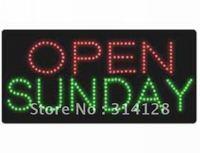 LED open sign(HSO0052) 235LED (R:101pcs;G:134pcs) +Adapter+hanging chain 3PCS