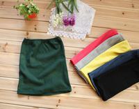 free shipping Thread 100% cotton candy color short skirt basic skirt a bust skirt