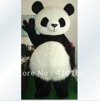 Wholesale New Version Chinese Giant Panda Mascot Costume Christmas Mascot Costume Free Shipping