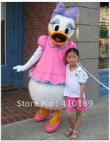 Cute Female Donald Duck Mascot Costume Daisy Duck Mascot Costume Daisy Mascot Costume Free Shipping