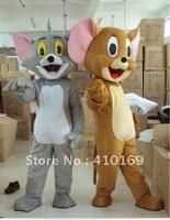 Mascot costume cartoon costume Tom cat and giovanni cobolli gigli rat mascot costume Free shipping