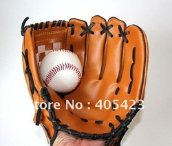 1Pcs/lot Durable ,Softball Glove ,Baseball Glove, Sports Player Preferred, Free AIR Mail ONLY(China (Mainland))