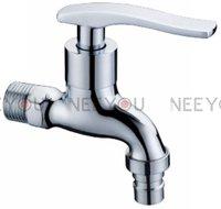 Free Shipping Washing machine Brass water faucet Bathtub tap Garden Bibcocks 3pcs/lot  18001