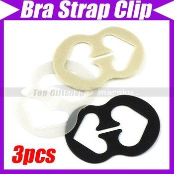 (3pcs/lot)New Perfect Adjust Bra Strap Clip Cleavage Control #1710