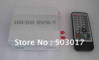 DHL Hot Sale car dvb t digital tv receiver HD DVB-T MPEG4 with HDMI USB  PVR and AV