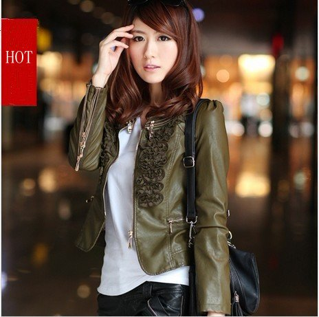 Short Leather Jackets For Women