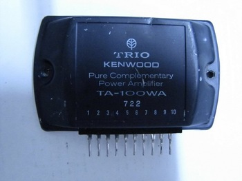 TA-100WA Pure complementary POWER AMPLIFIER  TRIO KENWOOD