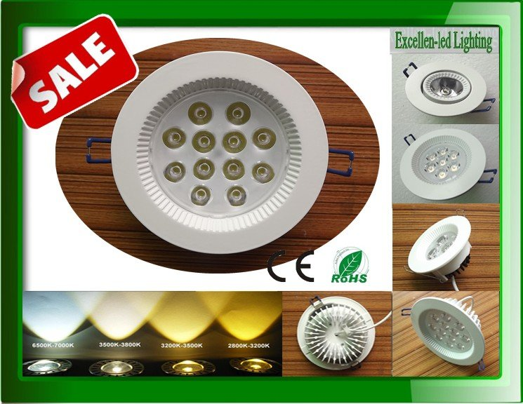 Aluminum ivory white integrated sheel 7W LED ceiling lamp hight brigheness LED for indoor home lighting