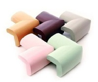 Baby safety products Corner Edge Cushions Anti-collision rubber baby Crash Section 5 color 8pcs lot