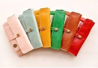 J30-070 Free Shipping/New sweet lace vintage style pu leather wallet with a coin bag /lady purses