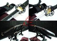 "40.6""japanese samurai katana full tang sword plum blossom tsuba very sharp blade"