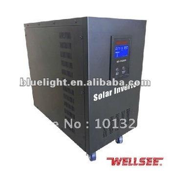 48VDC to 220VAC WELLSEE 6000W Sine Wave Inverter