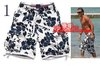 wholesale 2013 men's shorts fashion Flower printing personalized shorts free shipping