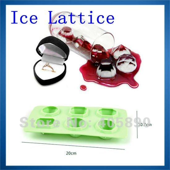 Cool Summer Silicone Building Block Ice Lattice Eco-friendly Ice Tray for Drinks Party Increase Atmosphere
