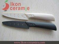"Free Shipping! High Quality 4"" Ikon Ceramic fruit knife combination 100% Zirconia Ceramic Knives(AJ-D4001P-2C-WGR)"
