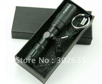 480pcs/lot free shipping police 3W Led spotlight flashlight Led Torch waterproof Torch CREE LED HEAD LAMP with gilf box