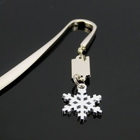SILVER SNOW LETTER OPENER/BOOKMARK 02