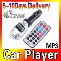 Free Shipping New Bluetooth Car MP3 Player Car FM Modulator Transmitter USB SD MMC Slot Silver Remote Control with high quality
