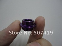 Free shipping! Scooter wheel spacers, aluminum bearing spacers, metal bushing for scooter