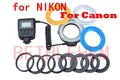New Ring light Macro flash light HL-48 for Canon Nikon Olympus Panasonic DSLR