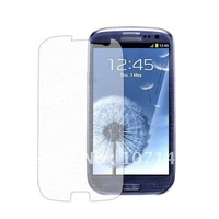 Wholesale I9300 Screen Protector Galaxy S3 Screen Guard Galaxy SIII LCD Film Cell Phone Screen Protector FreeShipping 100pcs/lot