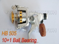 Top Quality!! 1Pcs Pack 10+1BB 4.0:1 Seahawker HB505 Cast Aluminium Forged Spool Spinning Fishing Reel Reels