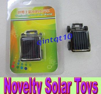20pcs/lots Free Shipping:Green ECO product, Solar toys, Novel Solar Powered Car Toy,