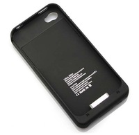 Portable 1900mAh External Backup Power Battery Charger Case For IPhone 4 4G 4S